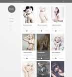 Art & Photography PSD  Template 57270