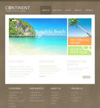 Travel PSD  Template 57275