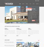 Architecture PSD  Template 57281