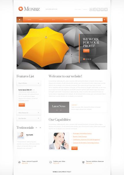 PSD макет сайта №57292