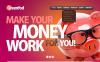 Modèle PSD  pour un conseiller financier New Screenshots BIG