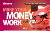 Plantilla PSD para Sitio de Asesores financieros New Screenshots BIG
