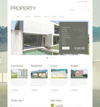 Real Estate PSD  Template 57301