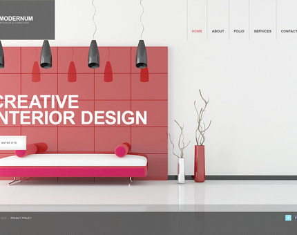 ADOBE Photoshop Template 57304 Home Page Screenshot