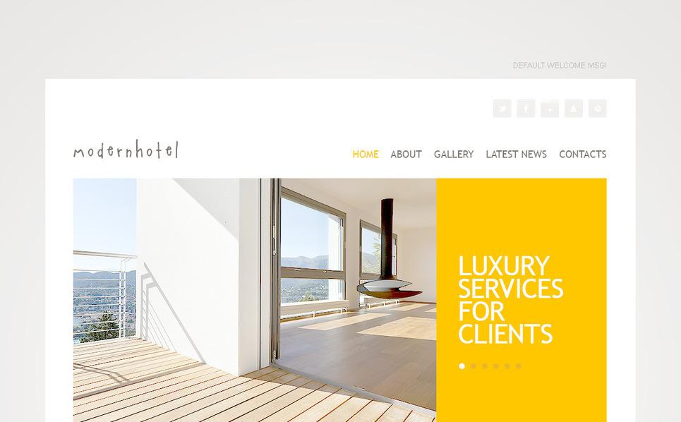 PSD Vorlage für Hotels  New Screenshots BIG
