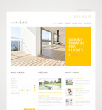 Hotels PSD  Template 57306