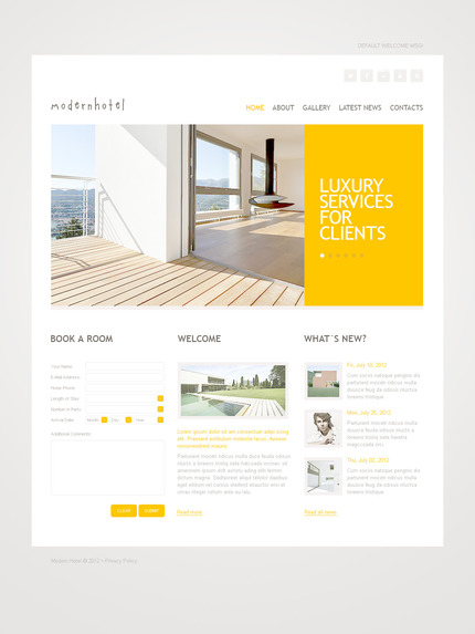 ADOBE Photoshop Template 57306 Home Page Screenshot