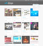 Web design PSD  Template 57312