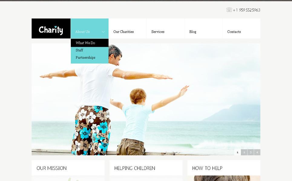 PSD Vorlage für Kindercharity  New Screenshots BIG