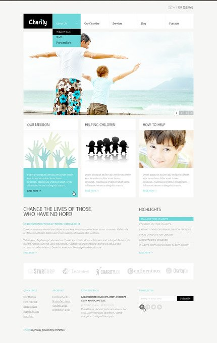 ADOBE Photoshop Template 57317 Home Page Screenshot