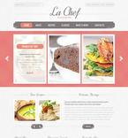 Food & Drink PSD  Template 57319