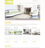 Furniture PSD  Template 57323