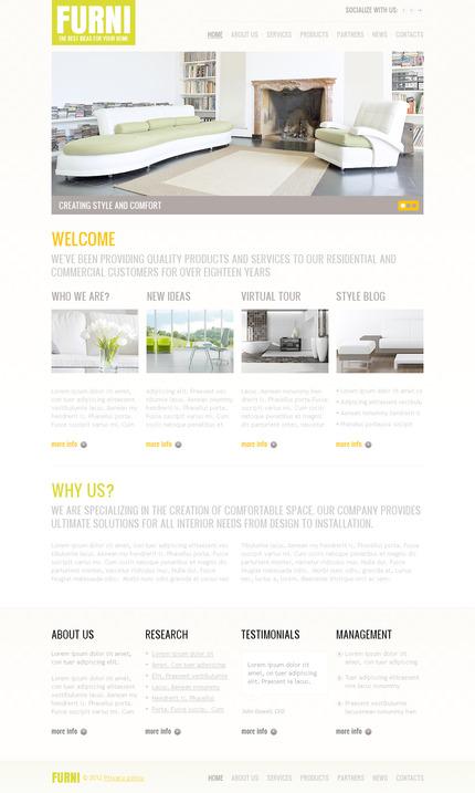 PSD макет сайта №57323