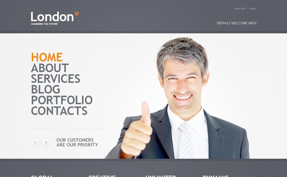 Plantilla PSD #57324 para Sitio de Negocio y Servicios New Screenshots BIG