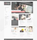 Web design PSD  Template 57327