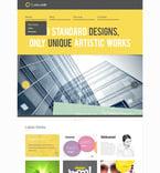 Web design PSD  Template 57328