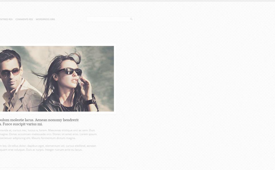 Plantilla PSD #57329 para Sitio de Galería de fotografía New Screenshots BIG