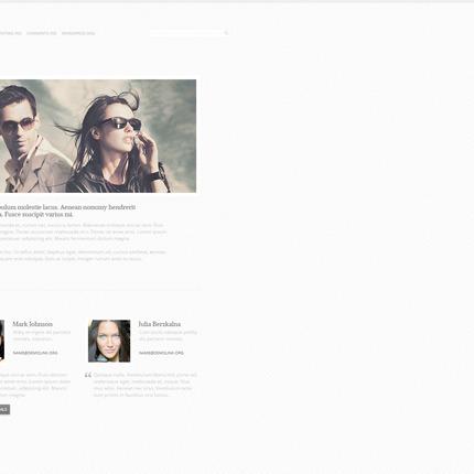 PSD макет сайта №57329