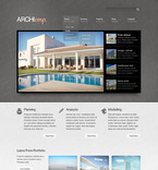 Architecture PSD  Template 57333