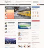 Society and Culture PSD  Template 57337