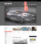 Cars PSD  Template 57340