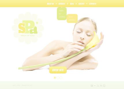 PSD макет сайта №57345