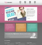 Web design PSD  Template 57346