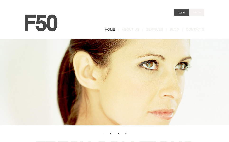 Szablon PSD #57349 na temat: biznes i usługi New Screenshots BIG