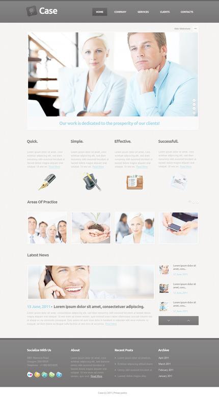 PSD макет сайта №57351