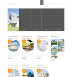 Architecture PSD  Template 57355
