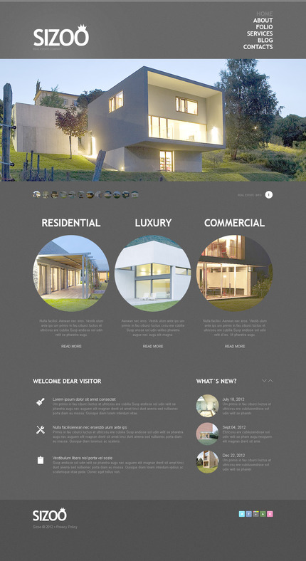 PSD макет сайта №57356
