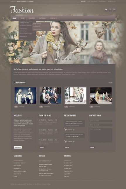 PSD макет сайта №57362