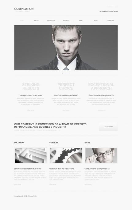 PSD макет сайта №57363