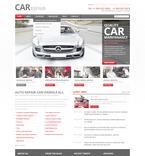 Cars PSD  Template 57368
