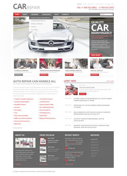 PSD макет сайта №57368