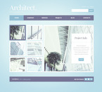 Architecture PSD  Template 57382