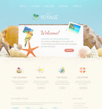 Travel PSD  Template 57383