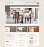 Cafe & Restaurant PSD  Template 57386