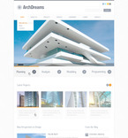 Architecture PSD  Template 57387