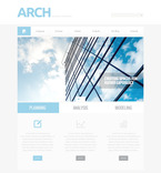 Architecture PSD  Template 57389
