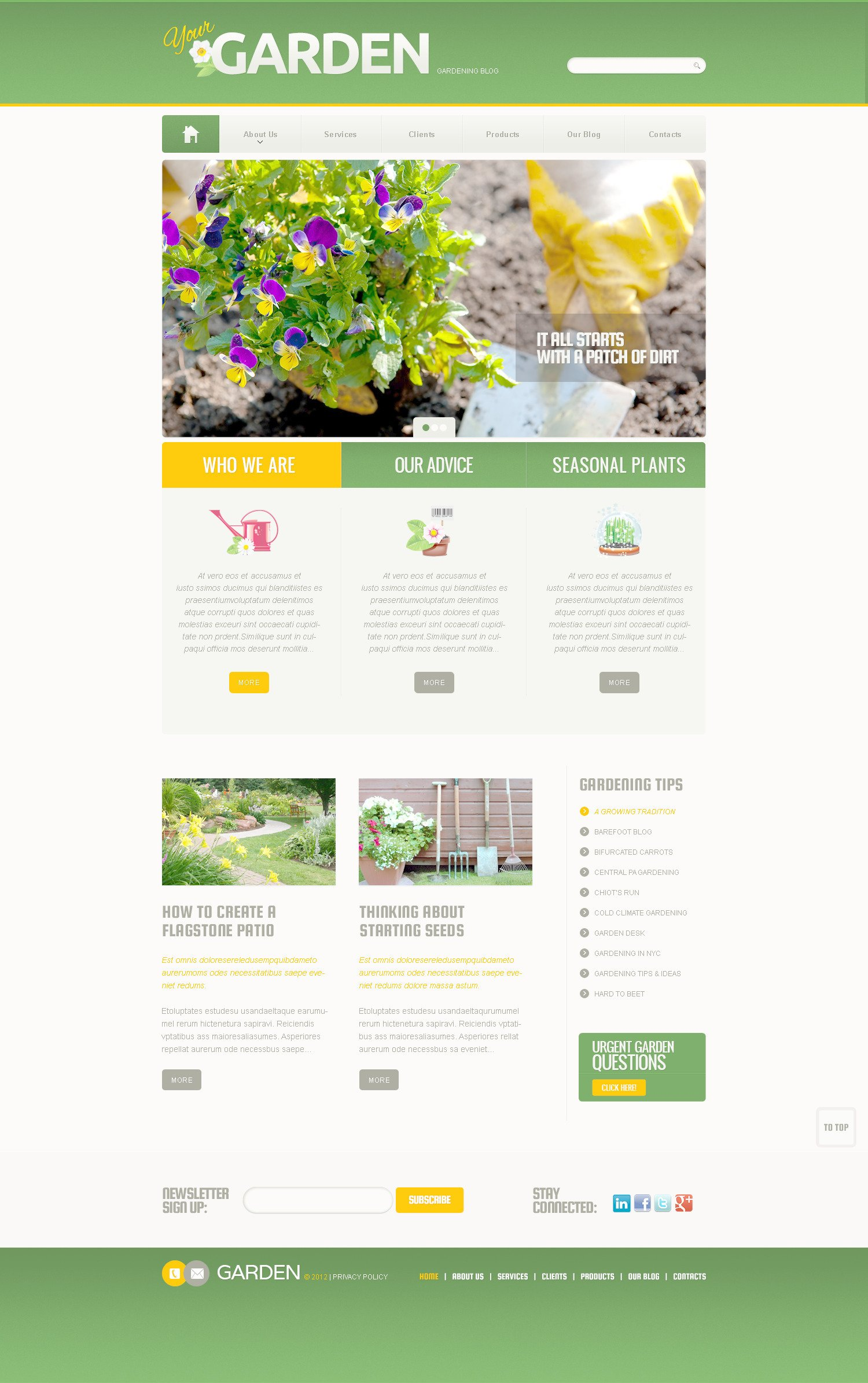 Exellent Garden Design Template Designs T And Decorating Ideas