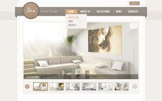 Interior Design PSD Template