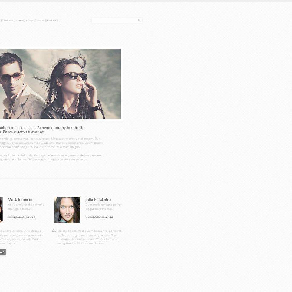 Photo Gallery PSD Template New Screenshots BIG