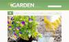 Plantilla PSD para Sitio de Diseño de jardines New Screenshots BIG