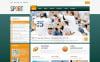 PSD шаблон №57302 на тему спорт New Screenshots BIG