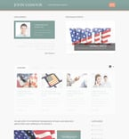 Politics PSD  Template 57400