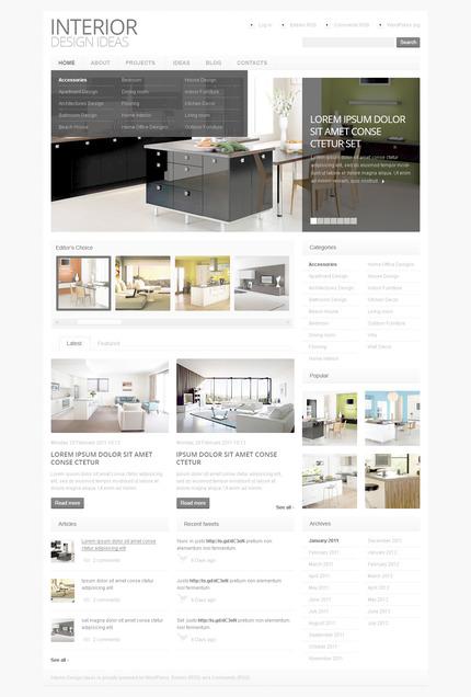 PSD макет сайта №57403