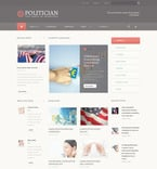 Politics PSD  Template 57406
