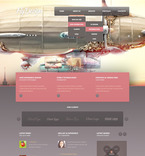 Web design PSD  Template 57407