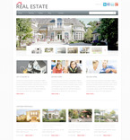 Real Estate PSD  Template 57409